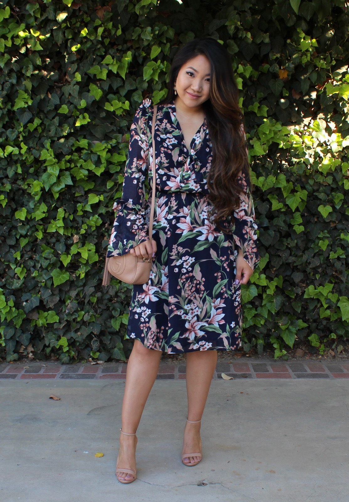Sun is Up Floral Dress