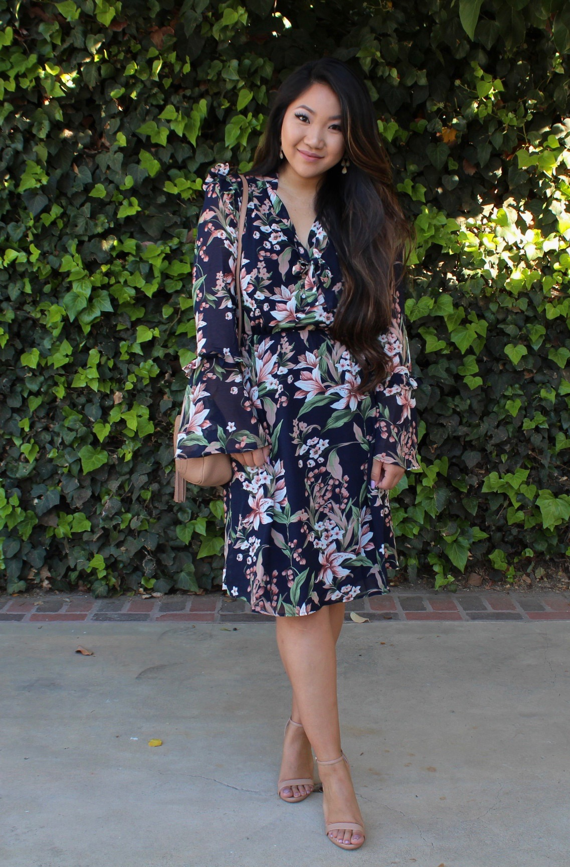 Tia Wong - Floral Dress