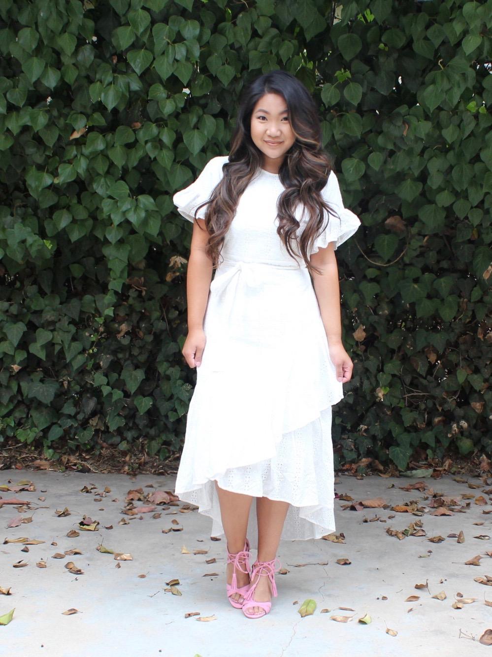 Rachel Parcell Eyelet Dress
