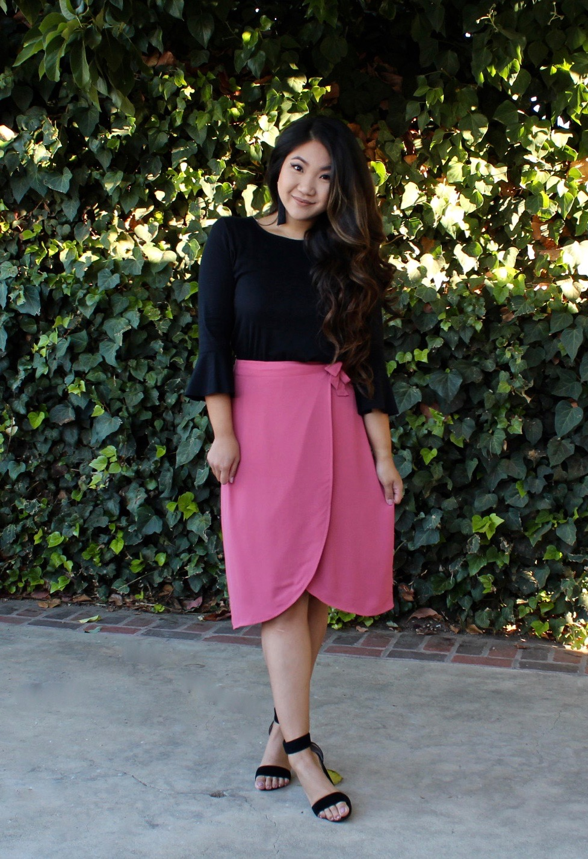 J.Crew Tulip Wrap Skirt