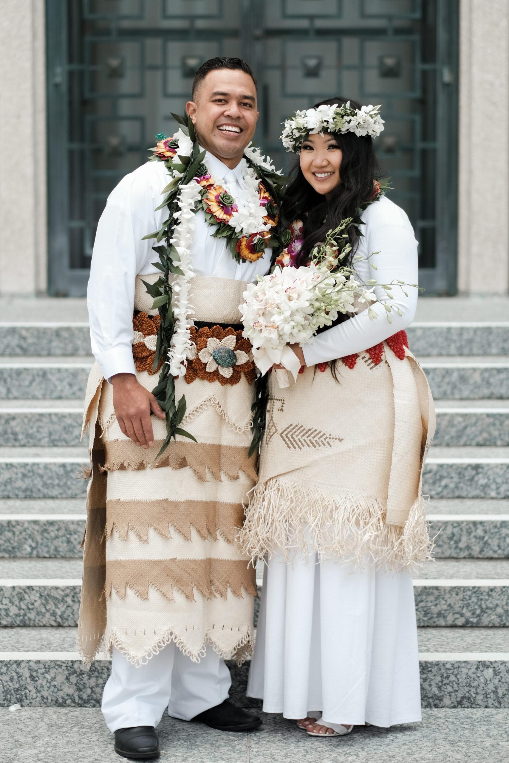 Tongan Wedding Attire